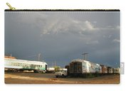 Storm Sky Over The Old Railyard Carry-all Pouch