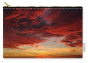 Storm Sunset - Miami, Florida Carry-all Pouch