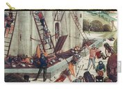 Storming Of Castle Carry-all Pouch by Granger