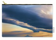 Storms Over Shasta Carry-all Pouch