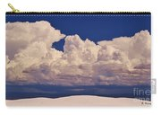 Storms Over The Mountains Carry-all Pouch