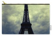 Stormy Day In Paris Carry-all Pouch by Carol Groenen