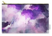 Stormy Purple Carry-all Pouch