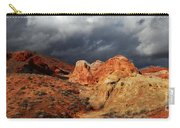 Stormy Skies Over Valley Of Fire Carry-all Pouch