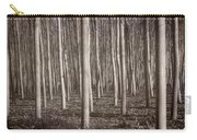 Straight Trees Carry-all Pouch