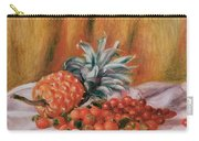 Strawberries And Pineapple Carry-all Pouch