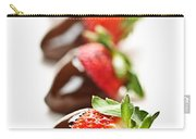 Strawberries Dipped In Chocolate Carry-all Pouch
