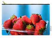 Strawberries In A Plastic Sale Box  Carry-all Pouch