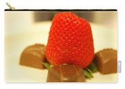 Strawberry And Chocolate Carry-all Pouch