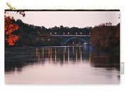 Strawberry Mansion Bridge At Dusk Carry-all Pouch