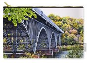 Strawberry Mansion Bridge Fall View Carry-all Pouch