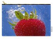 Strawberry Soda Dunk 3 Carry-all Pouch by John Brueske