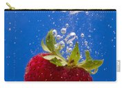 Strawberry Soda Dunk 5 Carry-all Pouch by John Brueske