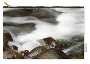 Stream Flowing Over Rocks Carry-all Pouch