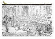 Street Advertising, 1842 Carry-all Pouch