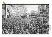 Street Car Strike, 1886 Carry-all Pouch