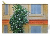 Street Corner In Provence Carry-all Pouch