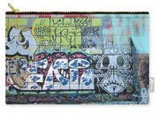 Street Graffiti - Tubs Let Loose Carry-all Pouch
