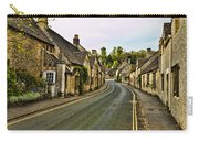 Street In Castle Combe Carry-all Pouch