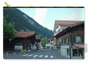 Street In Interlaken In Switzerland Carry-all Pouch