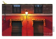 Street Lamp Cafe Carry-all Pouch