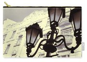 Street Lamps Of Budapest Hungary Carry-all Pouch
