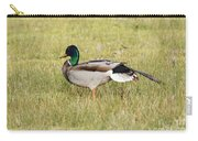 Stretching Mallard Carry-all Pouch