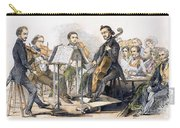 String Quartet, 1846 Carry-all Pouch by Granger