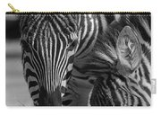 Stripes - Zebra Carry-all Pouch