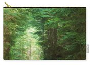 Stroll Through The Quinault Rain Forest Carry-all Pouch