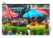 Strolling Around Inner Harbor Baltimore Carry-all Pouch
