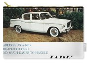 Studebaker Ad, 1959 Carry-all Pouch