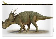 Styracosaurus Albertensis Carry-all Pouch