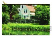 Suburban House With Reflection Carry-all Pouch