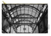 Subway Glass Station In Black And White Carry-all Pouch
