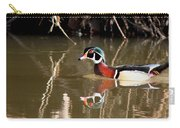 Sucarnoochee River - Suspicious Wood Duck Carry-all Pouch