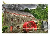 Sudbury - Storm Looms At The Grist Mill Carry-all Pouch