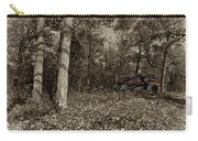 Sugar Shack In Sepia Carry-all Pouch