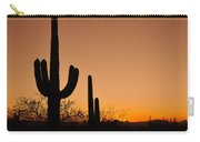 Suguaro Sunset Carry-all Pouch