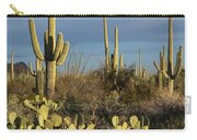 Suguaros At Sunset Carry-all Pouch