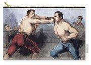 Sullivan & Kilrain Fight Carry-all Pouch