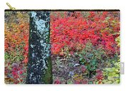 Sumac Slope And Lichen Covered Tree Carry-all Pouch