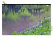 Summer Abstract At Tipsoo Lake Carry-all Pouch