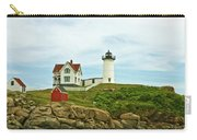 Summer Afternoon At Nubble Light Carry-all Pouch