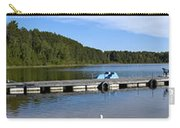 Summer Beach At Portage Lake Carry-all Pouch