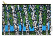 Summer Birches Carry-all Pouch