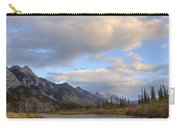 Summer Clouds Over Colin Mountain Carry-all Pouch