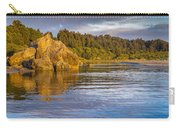 Summer Evening On Little River Carry-all Pouch