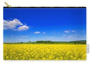Summer Field Carry-all Pouch by Amanda Elwell