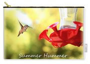 Summer Hummer Poster Carry-all Pouch